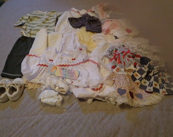 Vintage and Handmade Doll Clothes - 30