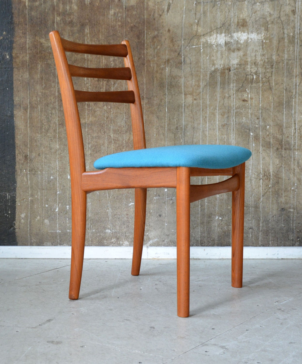 1 3 60er skovby teak stuhl danish design 60s chair vodder for Stuhl design 60er