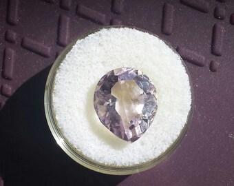 9.66 Ct Rose Quartz fat pearcut