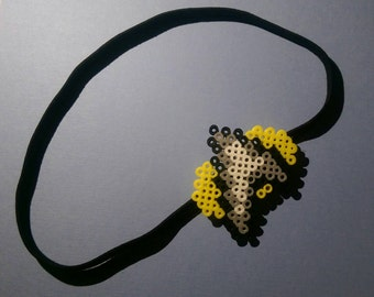 8- Bit Star Trek Inspired Headband, Perler Star Trek Headband