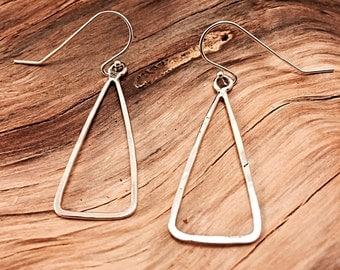 Sterling Silver Handmade Dangle Earrings