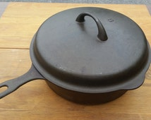 Unique Cast Iron Pan Related Items Etsy