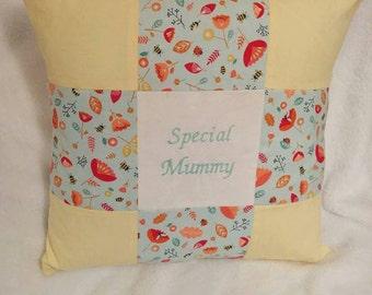 Handmade Special Mummy cushion