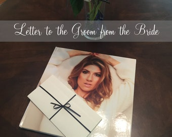 Letter to the Bride or Groom