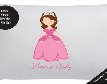 Personalized Princess Pillow Case