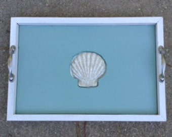 Scallop Shell Tray ON REDUCED FROM 55 Dollars!