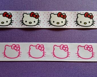 Hello Kitty Grosgrain Ribbon!
