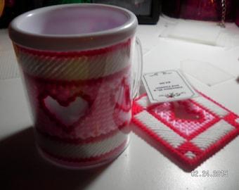 Valentine Mug and Coaster