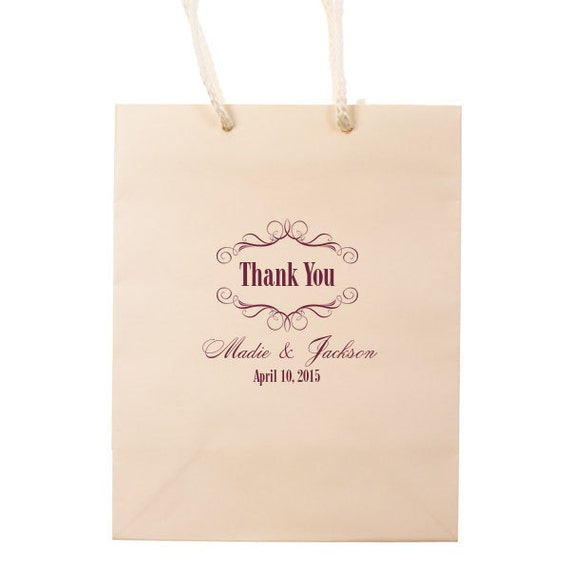 ... Bag / Custom Out of Town Guest Bags Favor Bags Destination Wedding