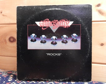 Aerosmith - Rocks - 33 1/3 Vinyl Record