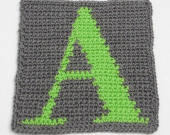 Pattern: Crochet alphabet