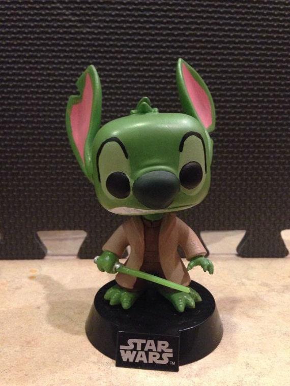 Yoda Stitch Custom Funko Pop Figure By KemilyCustoms On Etsy