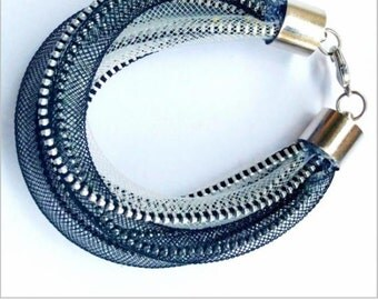 TRANSPULSAR zipper bracelet
