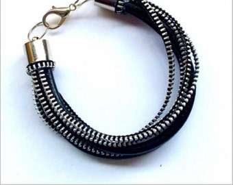 PULCUIR zipper bracelet