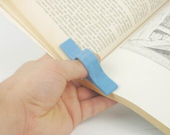 Reading Thumb Ring - 3d Printed Book Holding helper - Book page holder - Gift for readers!