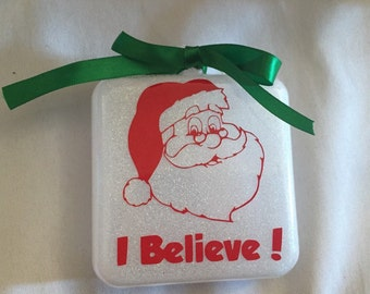 I believe Santa ornament