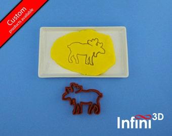 Canadian moose cookie cutter - Emporte-pièce Orignal canadien