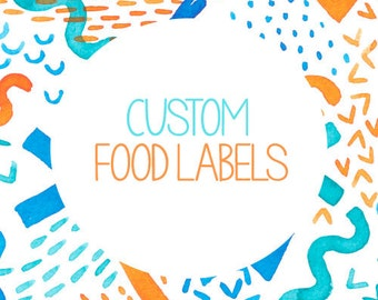 Custom Food Labels