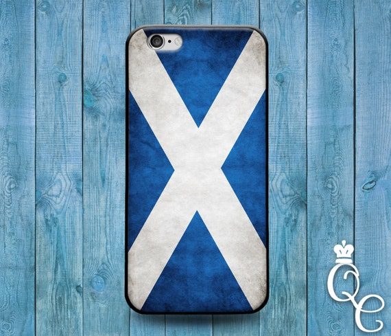 iPhone 4 4s 5 5s 5c SE 6 6s 7 plus iPod Touch 4th 5th 6th Gen Blue White Country Flags Scotland Scottish Cute Europe Flag Case Phone Cover