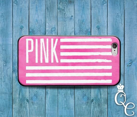 iPhone 4 4s 5 5s 5c SE 6 6s 7 plus iPod Touch 4th 5th 6th Gen Beautiful Love Pink Flag Girly Girl Cute Custom Phone Cover Adorable Case