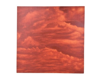 Abstract Red CloudScape  Painting Skyscape by Chicago Artist Kopala #13