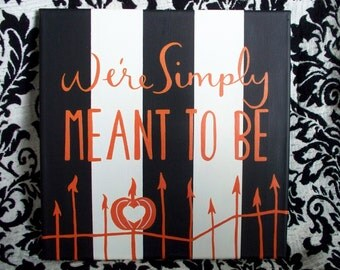Simply Meant to Be Nightmare Before Christmas Canvas