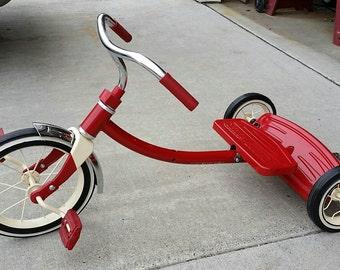 Lowered radio Flyer Tricycle / Trike