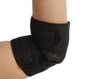Elbow Support | Dual Magnetic & Tourmaline Technology | Self-Heating | Adjustable Fit