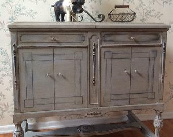 Buffet,Sideboard,Table,Painted Furniture,Distressed Furniture,Upcycled