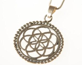 Brass Necklace, Tribal Brass Pendant, Tribal Necklace, Indian Jewellery, Gypsy Necklace, Boho Pendant, Boho Jewellery.