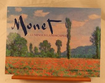 1993 (2016) Manet calendar from Boston Museum of Fine Arts