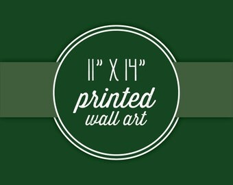 """Three 11x14"""" Prints Of Your Choice-In Your Choice Of Paper"""