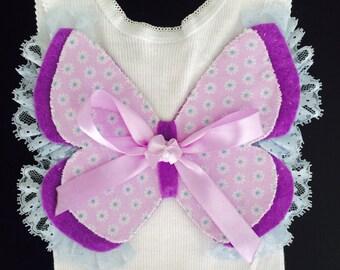 Angel Butterfly Wing Singlet baby girl