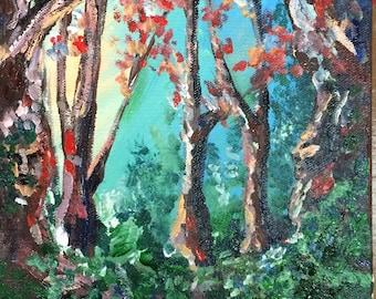Twilight Woods 8x11 print