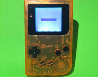 Clear Orange Nintendo Gameboy