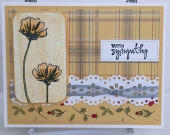 Handmade Card, Sympathy Card