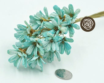 Preserved Fresh Flower , Dried Flowers Craft DIY ,Dried Floral Timber Floral Handmade Cuties