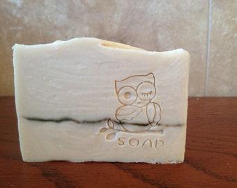Natural Pure Olive Oil Cold Process Soap - No Fragrance, No Colorant
