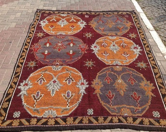 fall home decor orange and burgundy decorative rug fall colors halloween decor