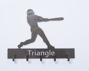 Baseball Medal Hanger available in male and female versions w free personalization
