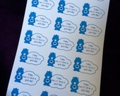 Today has not been a good day planner stickers , great for all planners  , happy planner kikki k etc mood tracker