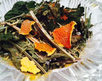 Spell Herbs, Sun Ritual Herbs, Pagan Herb, Witchcraft Spell Supply, Sun God, Goddess of Light, Natural Incense Potpourri, Wiccan Herbs