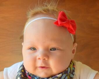 Felt Baby Bow Headband