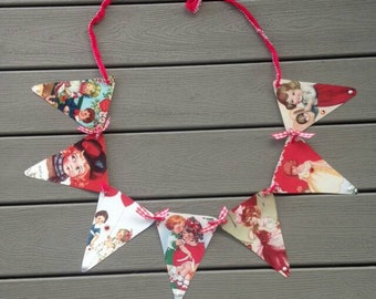 Valentine's Day Party  Bunting Banner