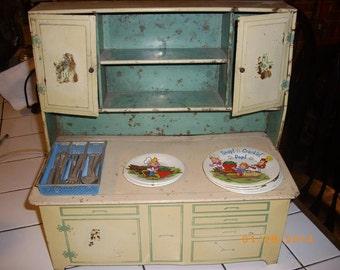 Vintage child's kitchen