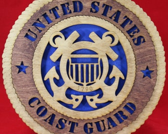 United States Coast Guard Plaque Tribute