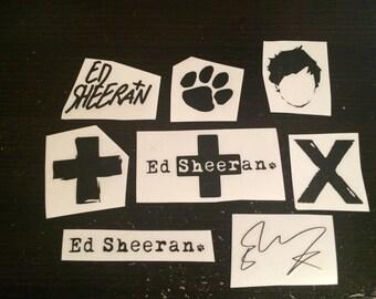 Ed Sheeran Stickers