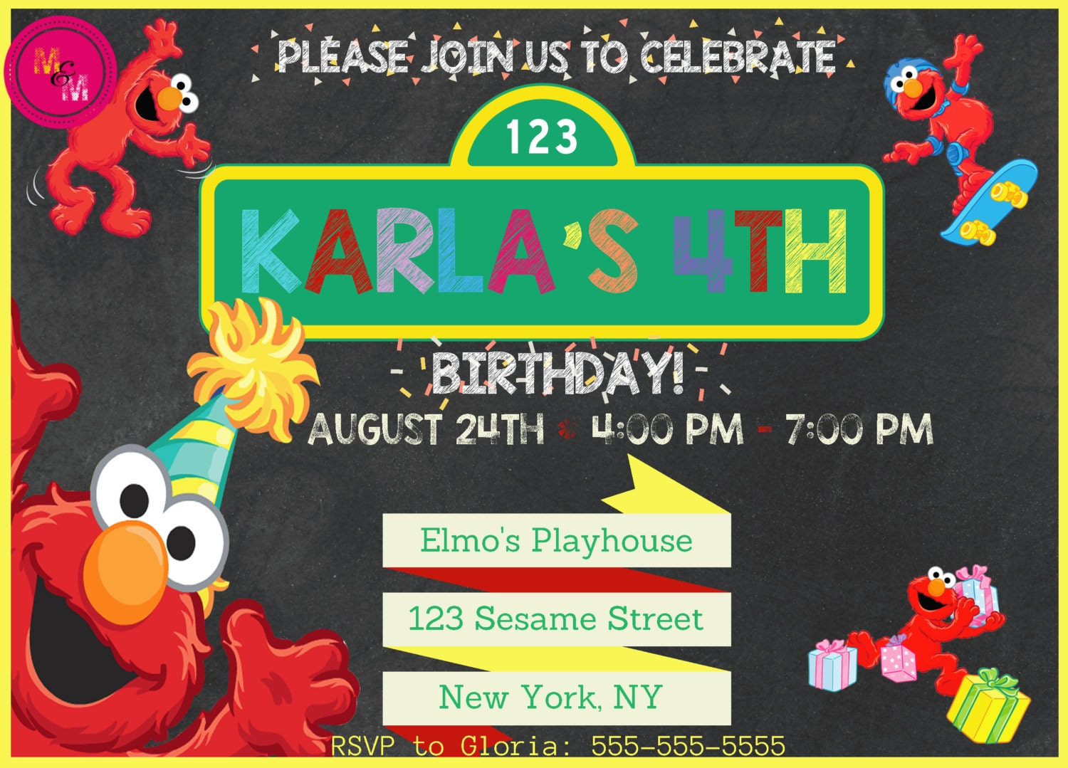 Sesame Street Birthday Party Instant | MediaTown 360