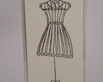 dress bookmark