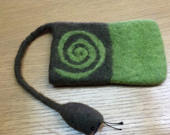 Cell Phone Cozy-Green